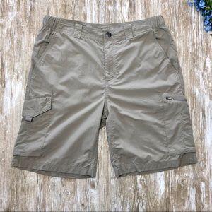 EUC {Columbia} Mens OMNI SHADE Nylon Shorts